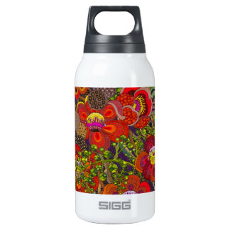 Shorea Robusta original painting by Gwolly Insulated Water Bottle