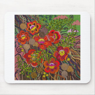 Shorea Robusta original painting by Gwolly Mouse Pad