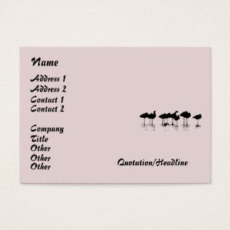 Shorebird Birds Wildlife Animals Avocets Godwits Business Card