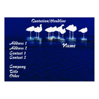 Shorebird Birds Wildlife Animals Avocets Godwits Large Business Card