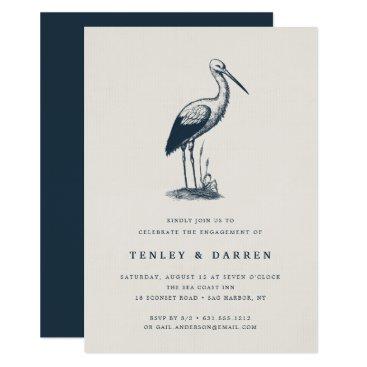 Beach Themed Shorebird | Engagement Party Invitation