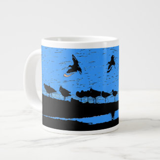 Shorebirds Art Giant Coffee Mug