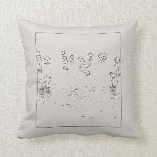 Shorebirds Art Pillow