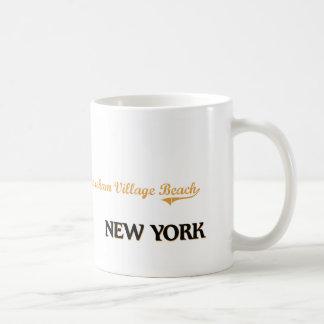 Shoreham Village Beach New York Classic Classic White Coffee Mug