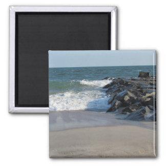 Shoreline 2 Inch Square Magnet