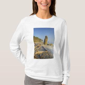 Shoreline and Seastacks, Ruby Beach, Olympic T-Shirt