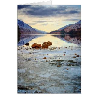 Shoreline at Loch Sheil Card