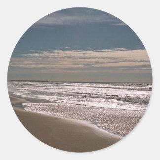 Shoreline Classic Round Sticker