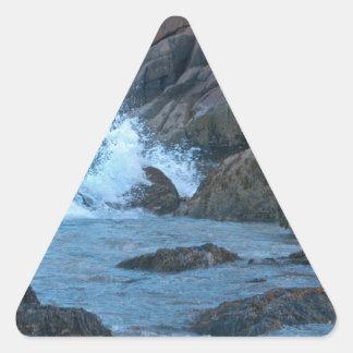 Shoreline maine triangle sticker
