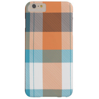 Shoreline Plaid Barely There iPhone 6 Plus Case