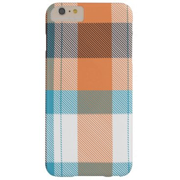 Beach Themed Shoreline Plaid Barely There iPhone 6 Plus Case