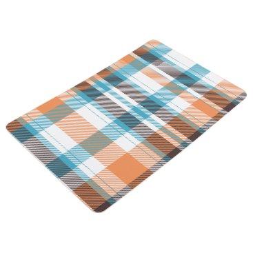 Shoreline Plaid Floor Mat