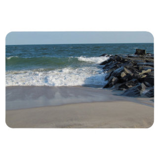 Shoreline Rectangular Photo Magnet