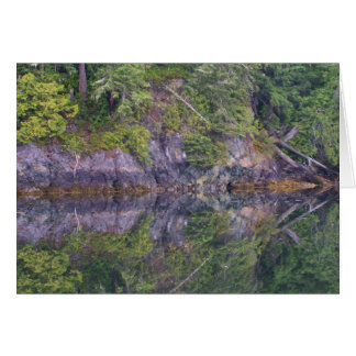Shoreline Reflections 12 Greeting Card