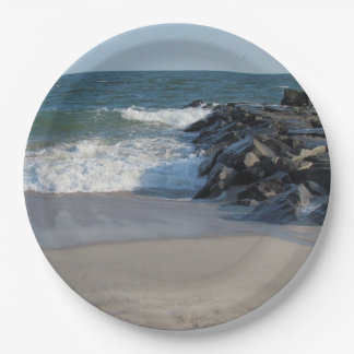 Shoreline 9 Inch Paper Plate
