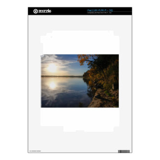 Shoreline Sunset Decal For The iPad 2