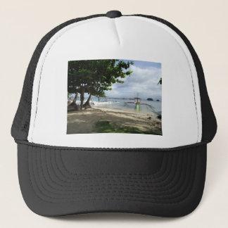 shoreline trucker hat