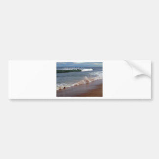 Shoreline Waves Bumper Sticker