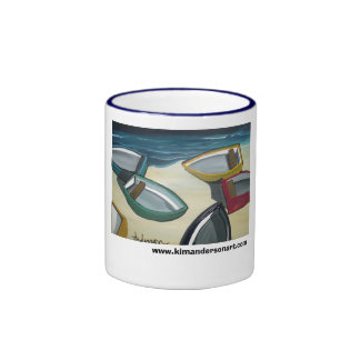 Shoreline www.kimandersonart.com coffee mugs