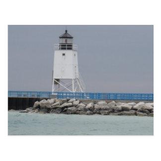 Shores of Lake Michigan Postcard