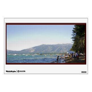 Shores of Tahoe Wall Decal