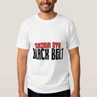 Shorin Ryu Black Belt Karate T-shirts