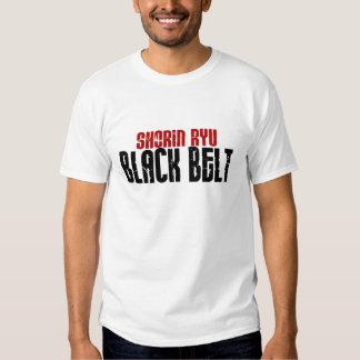 Shorin Ryu Black Belt Karate T Shirts