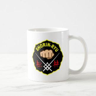 SHORIN RYU KARATE PATCH SYMBOL KANJI COFFEE MUG