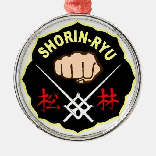 SHORIN RYU KARATE PATCH SYMBOL KANJI ORNAMENT