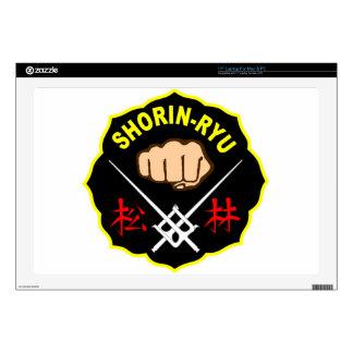 SHORIN RYU KARATE PATCH SYMBOL KANJI DECALS FOR LAPTOPS