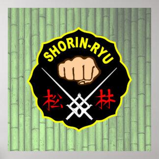Shorin-Ryu Okinawa Karate Poster