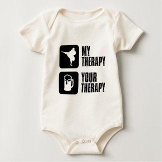 Shorinji-Kempo is my therapy Baby Bodysuit