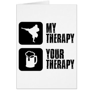 Shorinji-Kempo is my therapy Card