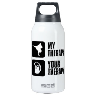 Shorinji-Kempo is my therapy Insulated Water Bottle
