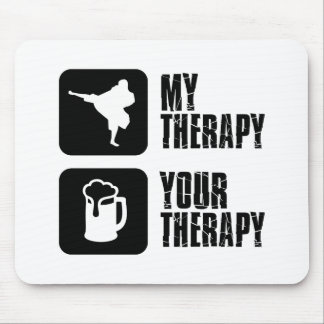 Shorinji-Kempo is my therapy Mouse Pad
