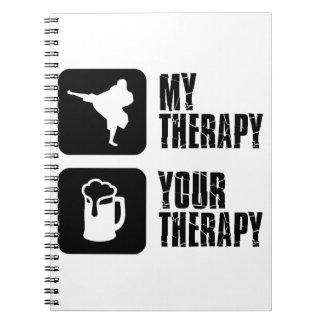 Shorinji-Kempo is my therapy Spiral Note Book