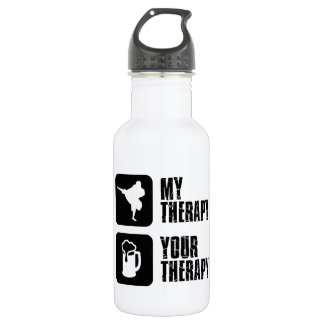 Shorinji-Kempo is my therapy Stainless Steel Water Bottle