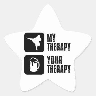 Shorinji-Kempo is my therapy Star Sticker