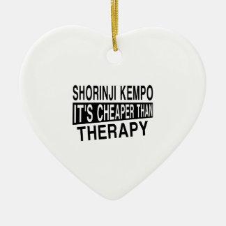 SHORINJI KEMPO IT IS CHEAPER THAN THERAPY CERAMIC ORNAMENT