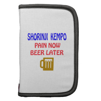 Shorinji Kempo pain now beer later Planner