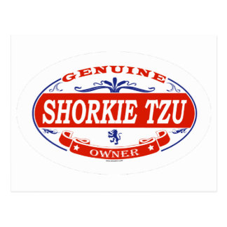 SHORKIE TZU_ POSTCARD