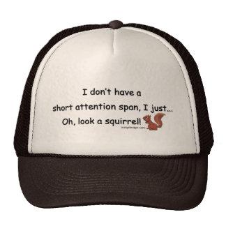 Short Attention Span Squirrel Trucker Hat