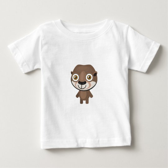 Short Clawed Otter - My Conservation Park Baby T-Shirt