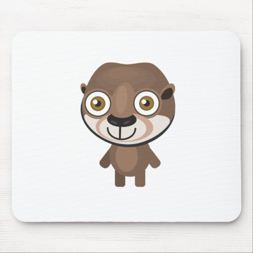Short Clawed Otter - My Conservation Park Mouse Pad
