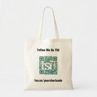 Short Code Budget Tote Bag