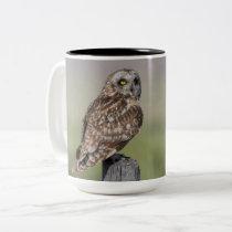 Short-eared Owl Large Mug