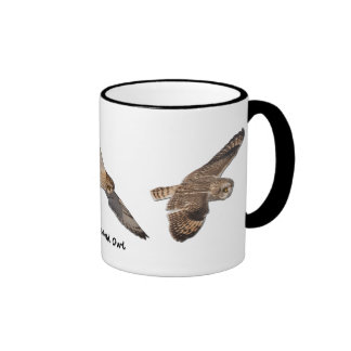 Short-eared Owl Ringer Mug