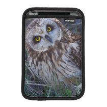 Short-eared Owl Sleeve For iPad Mini