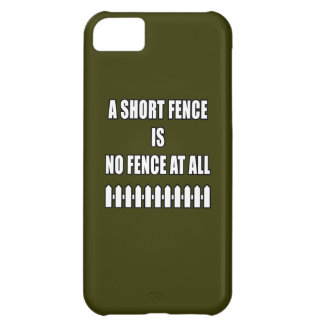 Short Fence Case For iPhone 5C
