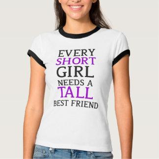 Short Girl - Tall Girl T-Shirt